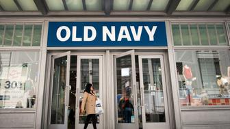 NEW YORK, NY - MAY 12: A woman carries her shopping bag as she exits an Old Navy store, May 12, 2017 in the Herald Square neighborhood in New York City. The U.S. Commerce Department says retail sales rose 0.4 percent in April from March. (Photo by Drew Angerer/Getty Images)