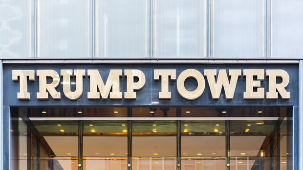 Trump Tower Front Entrance on January 27th 2017 in New York, United States Of America.