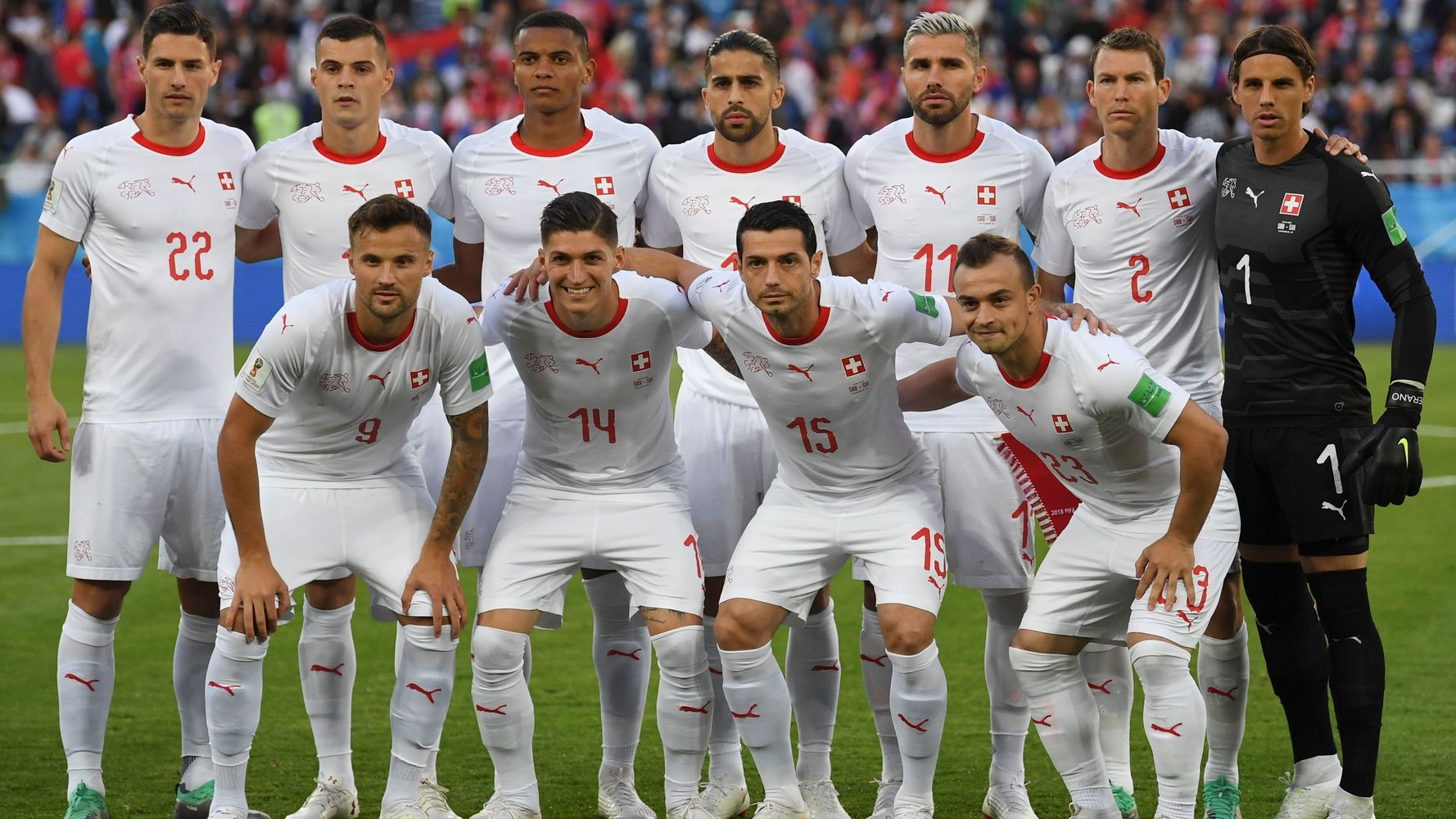 reputable site 5d2e2 476ed Switzerland's World Cup Team Sits At The Heart Of Europe's ...