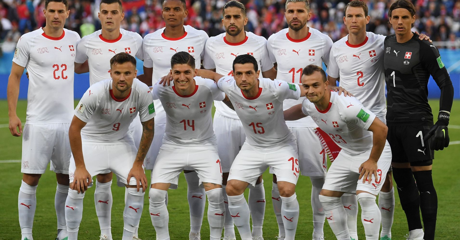 6a0a7cce8e5 Switzerland's World Cup Team Sits At The Heart Of Europe's National  Identity Panic | HuffPost