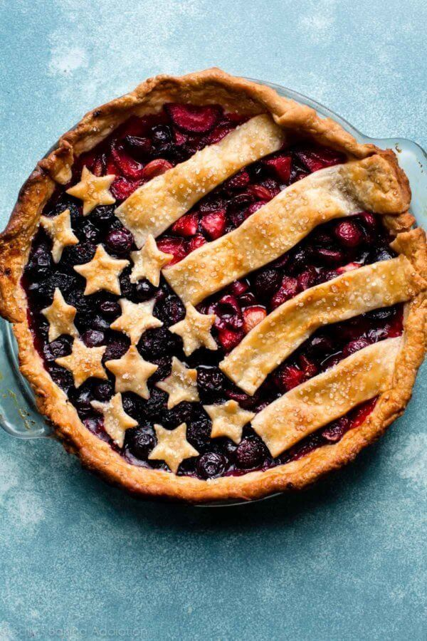 "<strong>Get the <a href=""https://sallysbakingaddiction.com/2017/06/12/american-flag-pie/"" target=""_blank"">American Flag Pie</"