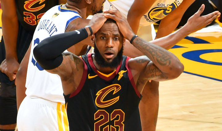 Bron realizing he could've had 50 dinosaurs.