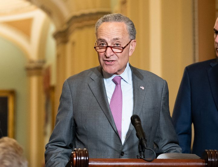 Senate Minority Leader Chuck Schumer (D-N.Y.) said the GOP should follow its own precedent and delay consideration of a
