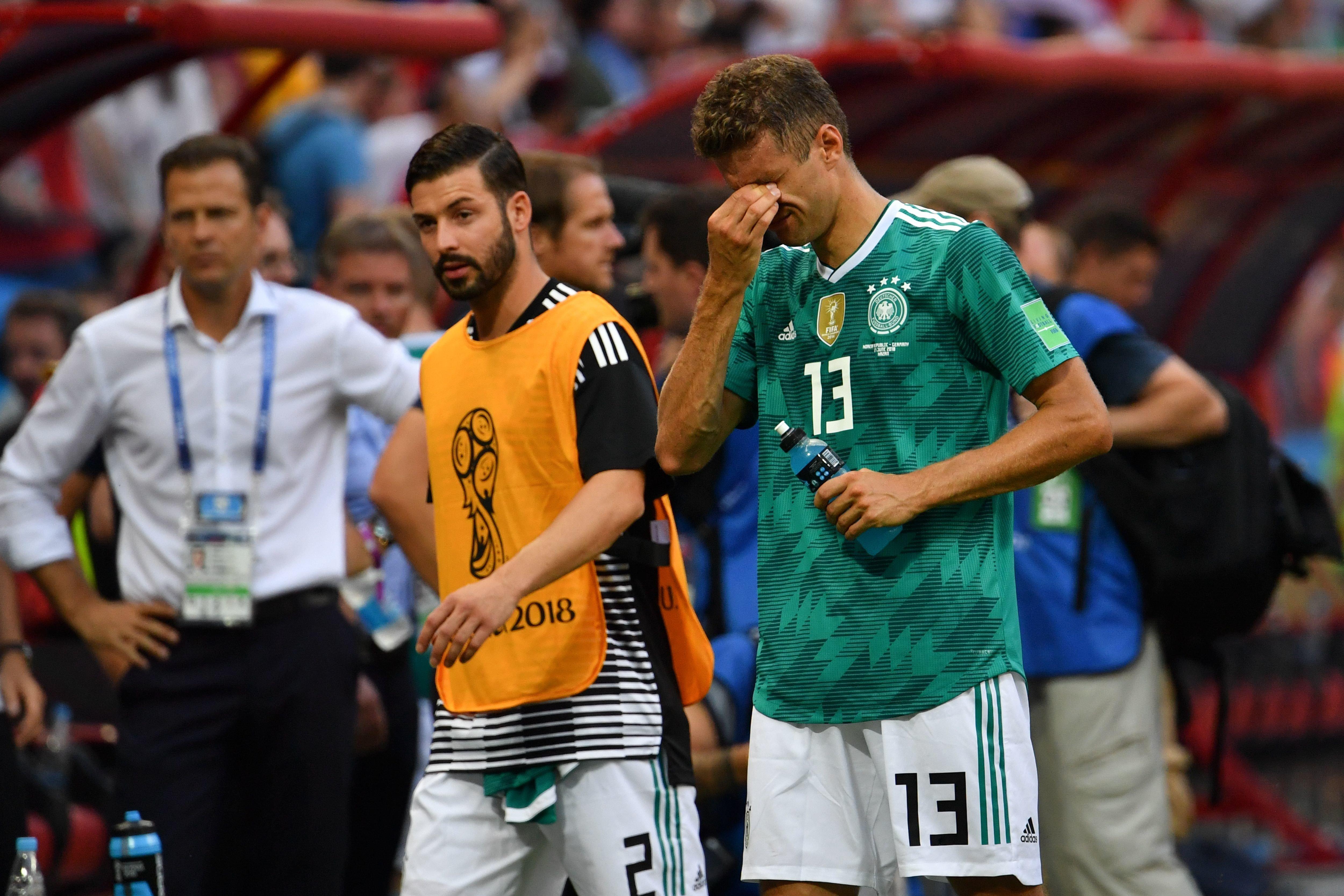 """독일 언론은 """"월드컵 사상 최대 굴욕""""이라고 한국 전을 평가했다"""