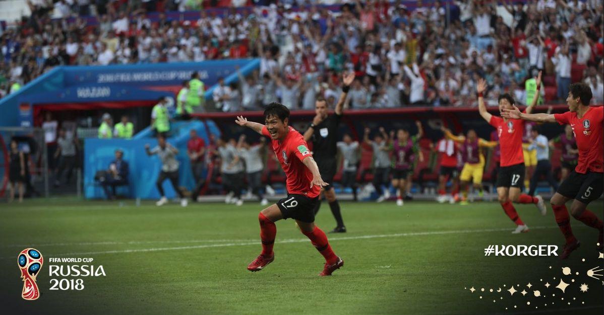 월드컵 공식 트위터에 올라온 '이번 월드컵 최고의 순간' (사진)