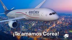 멕시코는 한국에 정말 감사한 나머지 한국행 항공권도