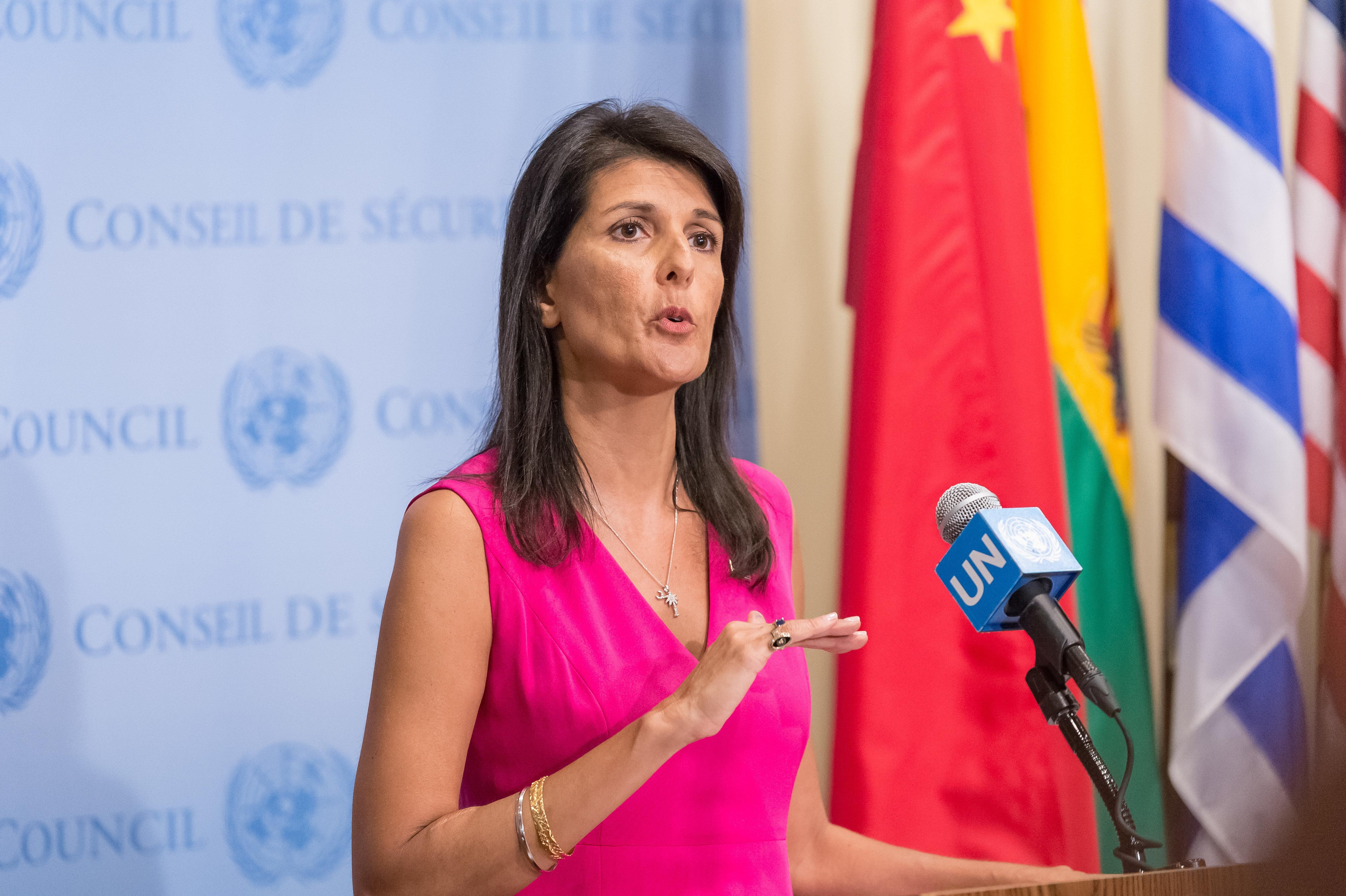 Οι ΗΠΑ πιέζουν τα μέλη του Συμβουλίου Ασφαλείας του ΟΗΕ να επιβάλλουν κυρώσεις στο