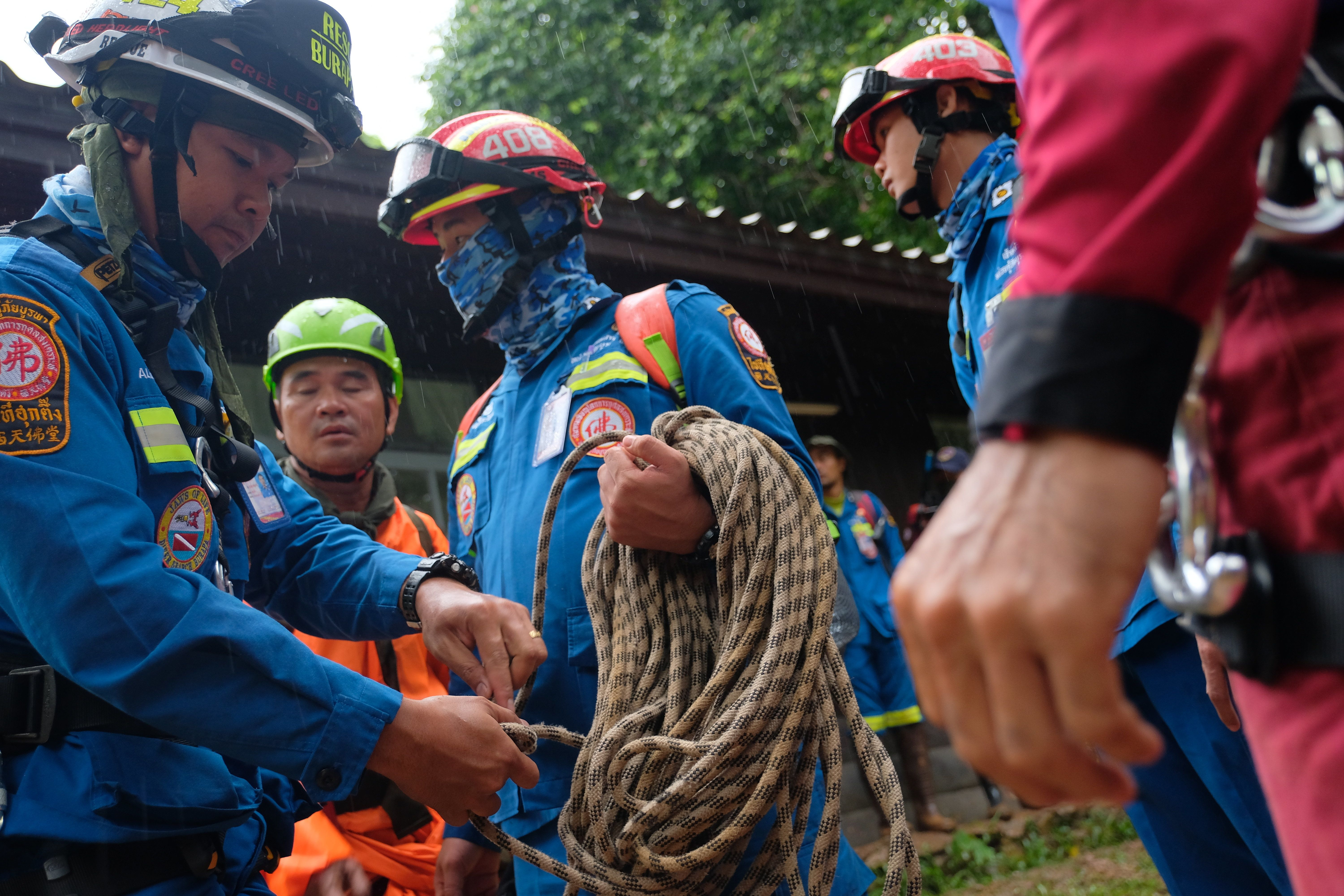 U.S. Forces Join Search For Teen Soccer Team Trapped In Flooded Cave In Thailand