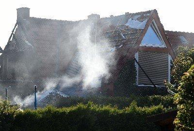 Dieses Bremer Wohnhaus explodierte vergangene