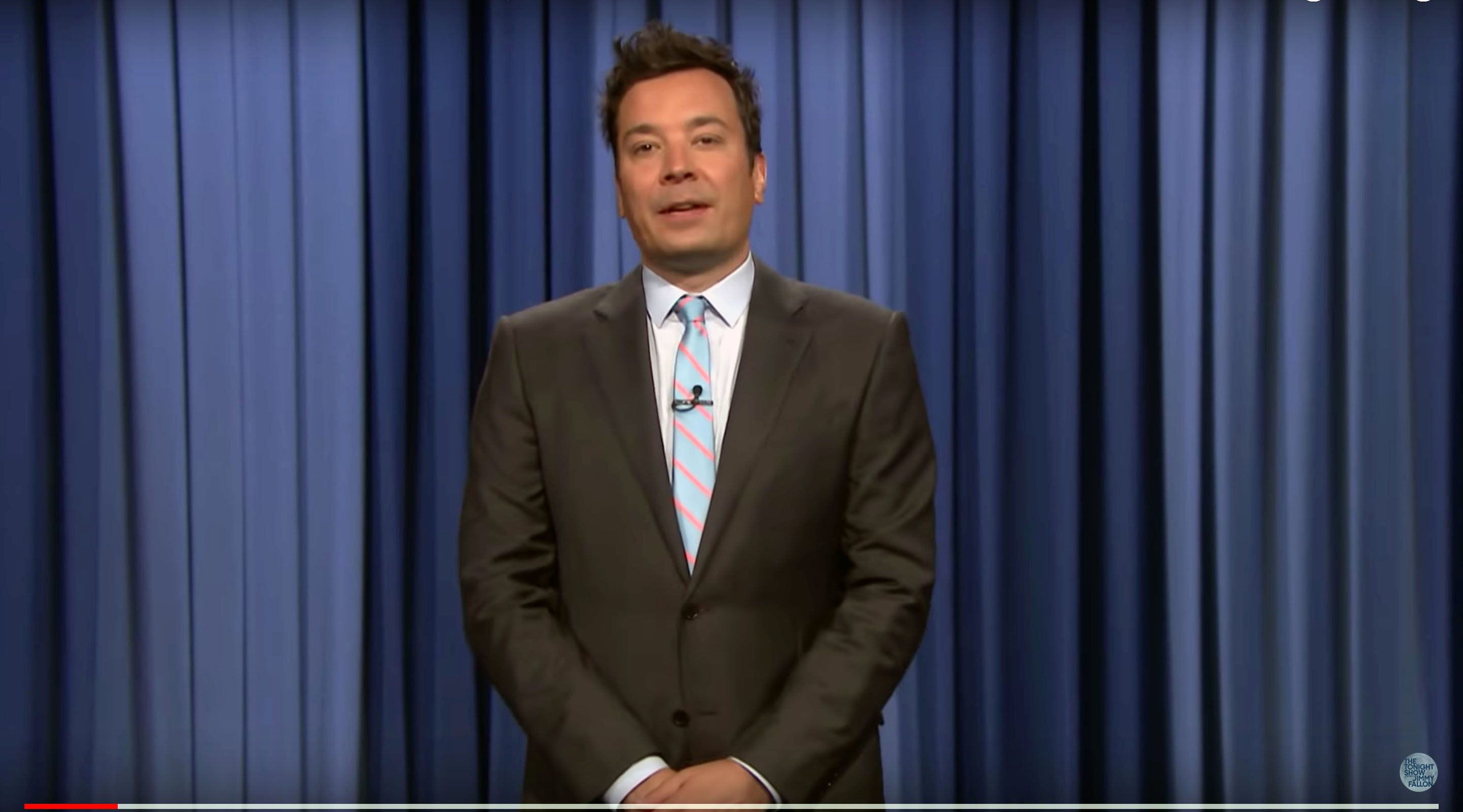 Jimmy Fallon of The Tonight Show comments on the retirement of Justice Anthony Kennedy