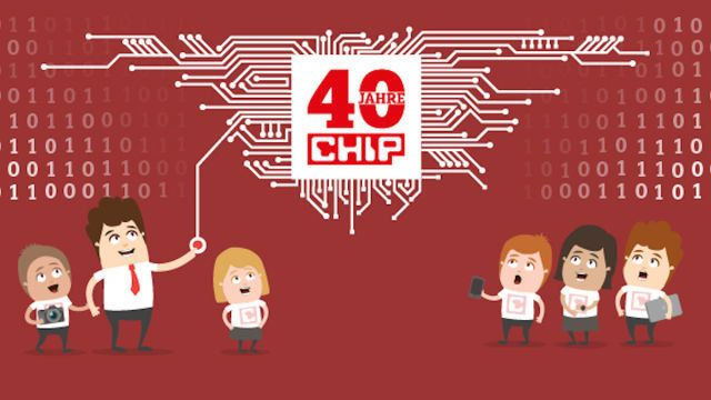 40 Jahre CHIP-Magazin: Wie alles