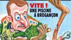 Το Charlie Hebdo εκθέτει τον Μακρόν για τη στάση του στο