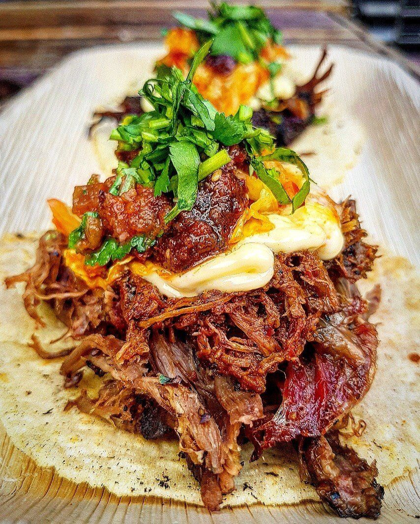 Andy Stubbs' delicious low'n'slow tacos