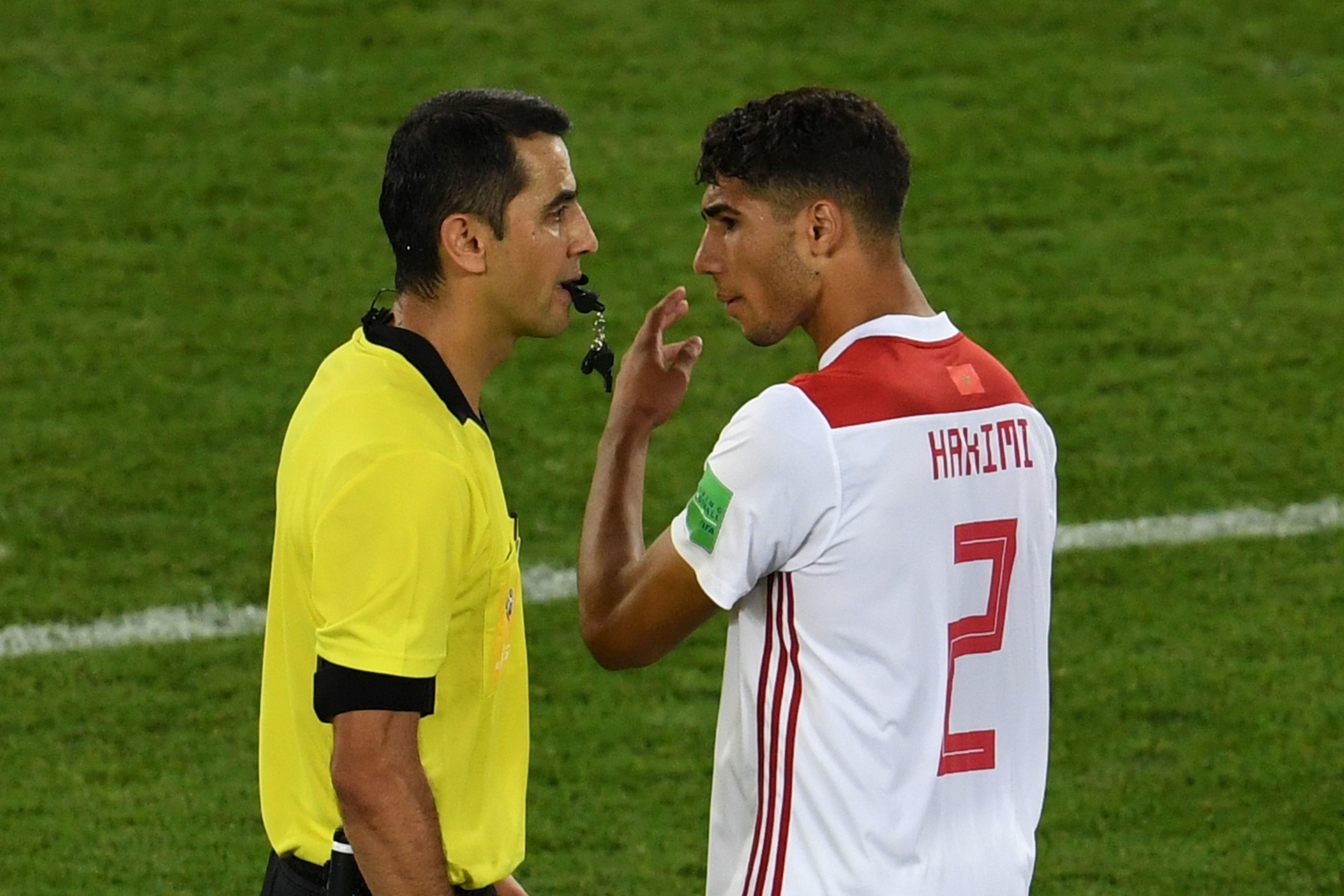 La fédération marocaine saisit la FIFA — Erreurs d'arbitrage