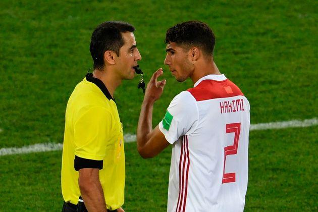 La Fédération Royale Marocaine de Football saisit la FIFA pour dénoncer l'arbitrage des matchs Maroc-Portugal...