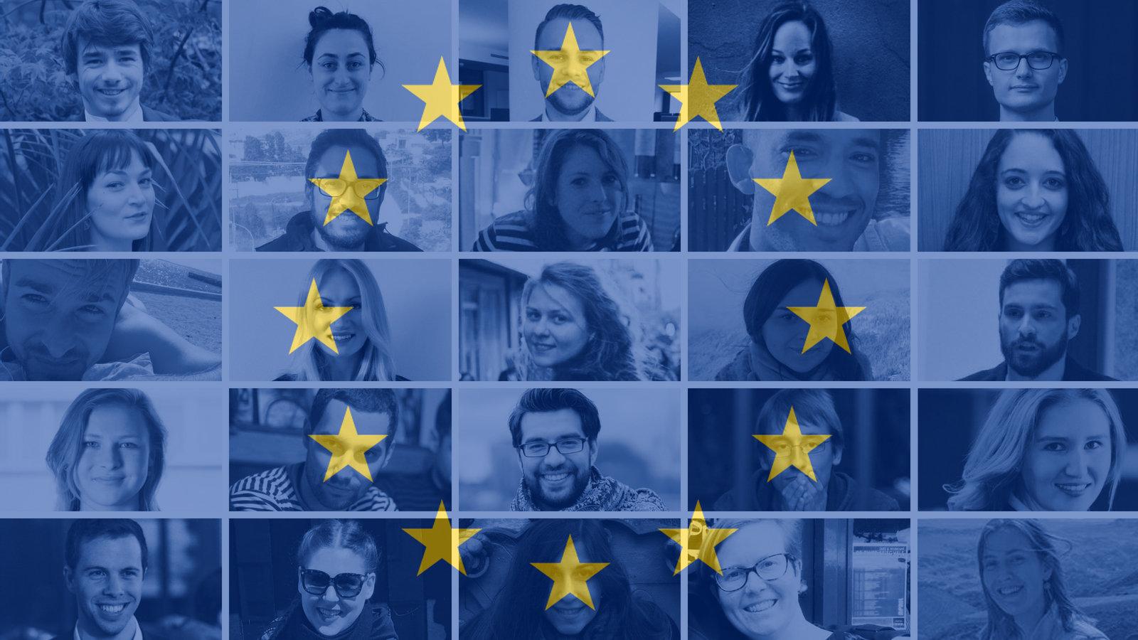 28 junge Europäer aus allen EU-Staaten haben eine Botschaft an ihre
