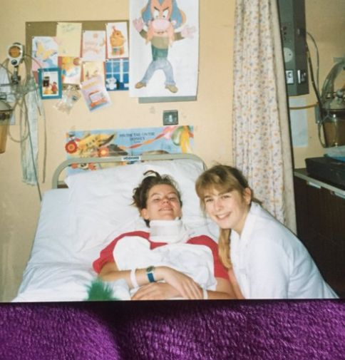30 Jahre nach Krebsdiagnose: Frau trifft ihre Krankenschwester