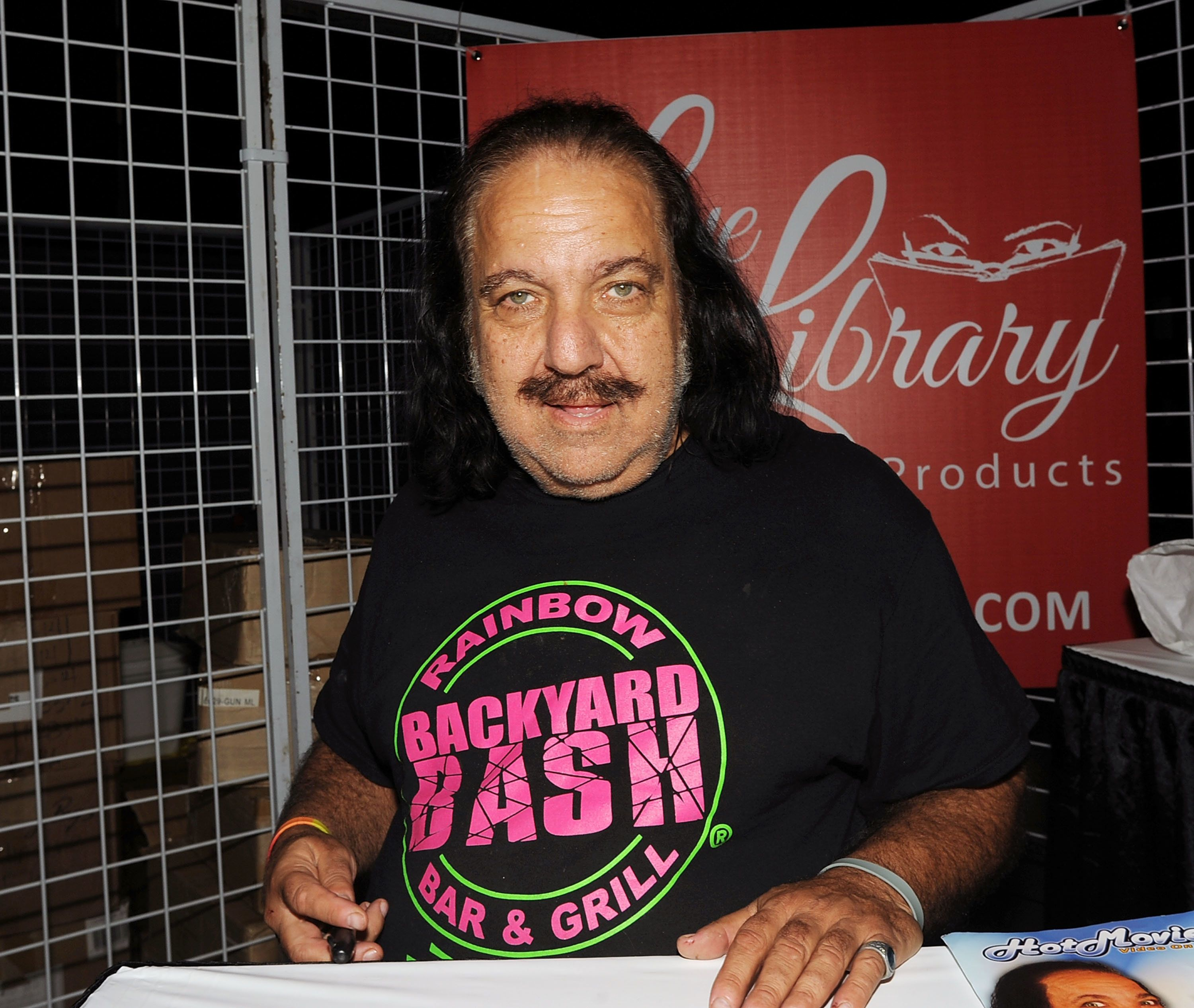 SOMERSET, NJ - NOVEMBER 04:  Ron Jeremy attends Exxotica 2016 at Garden State Exhibit Center on November 4, 2016 in Somerset, New Jersey.  (Photo by Bobby Bank/Getty Images)