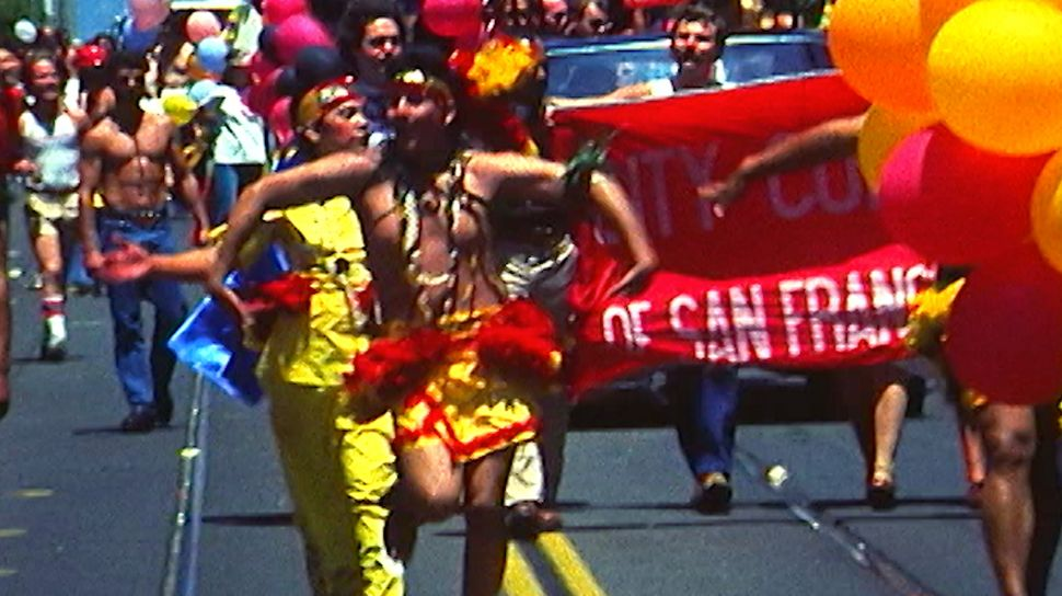 "A still from the episode ""Visibility at Pride: The Pacific Islanders Who Marched in 1982."""