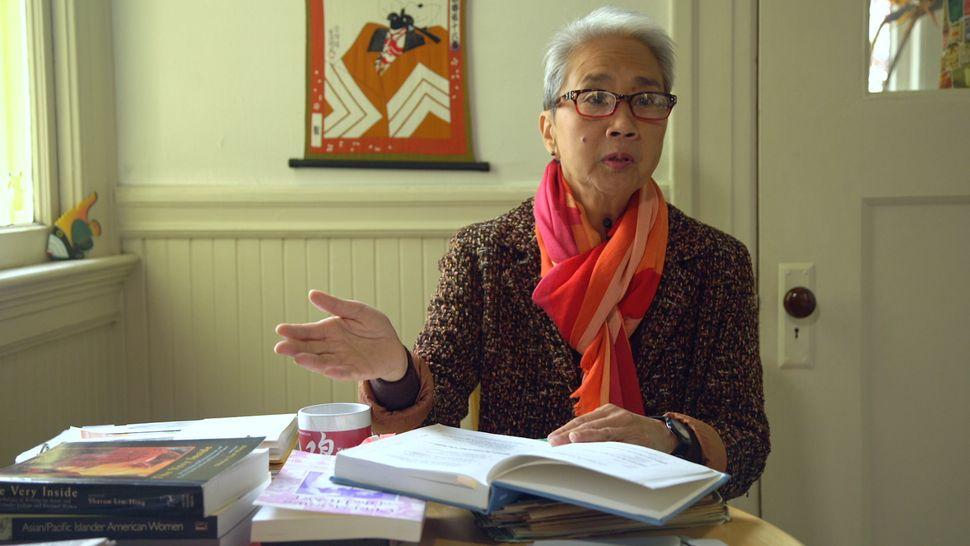 Trinity Ordona, a longtime lesbian Filipina-American activist in San Francisco.