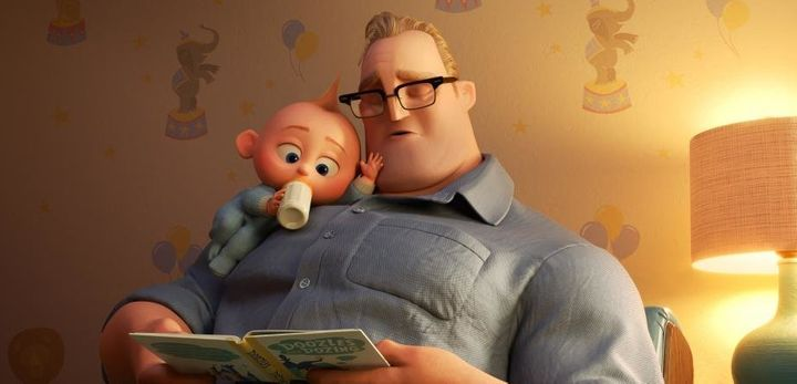 "Jack-Jack and Bob in ""Incredibles 2."""