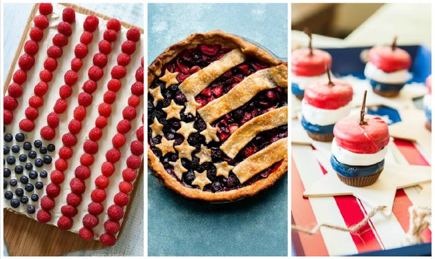 The Best Red, White And Blue Desserts For The Fourth Of