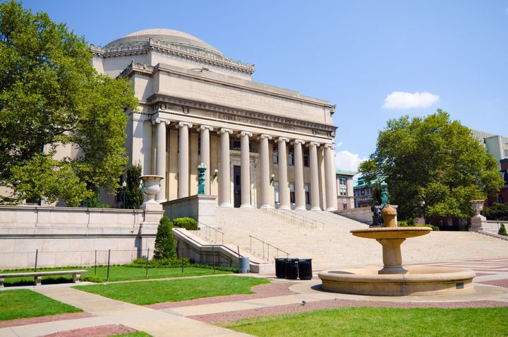 The student at Columbia University in New York had written about being a survivor of sexual assault in the school's student-l