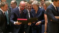 EU-Gipfel: Belgiens Premier sorgt mit Präsent für Theresa May für