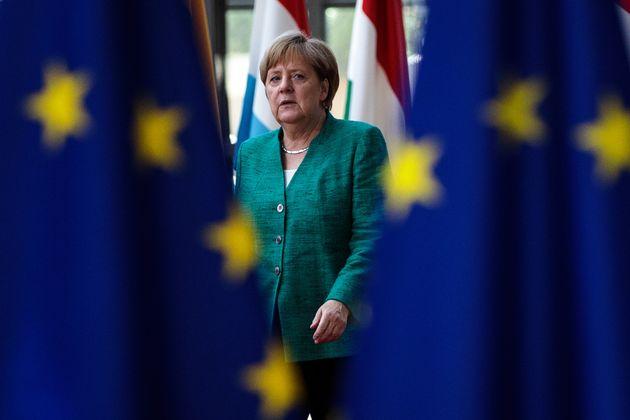 Kanzlerin Angela Merkel beim EU-Gipfel in