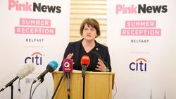 Arlene Foster Asked For Her Views On Same-Sex Marriage To Be Respected At LGBT+