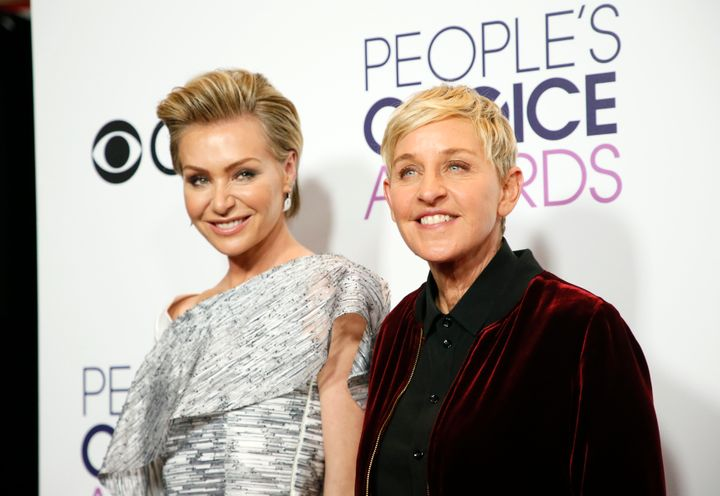 Portia de Rossi and Ellen DeGeneres will celebrate their 10th wedding anniversary in August — a decade's worth of
