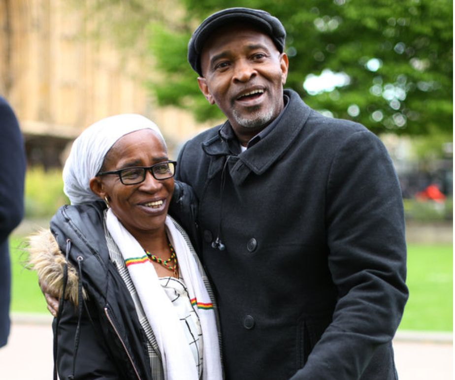 Windrush migrants Paulette Wilson and Anthony Bryan were both detained by the Home Office