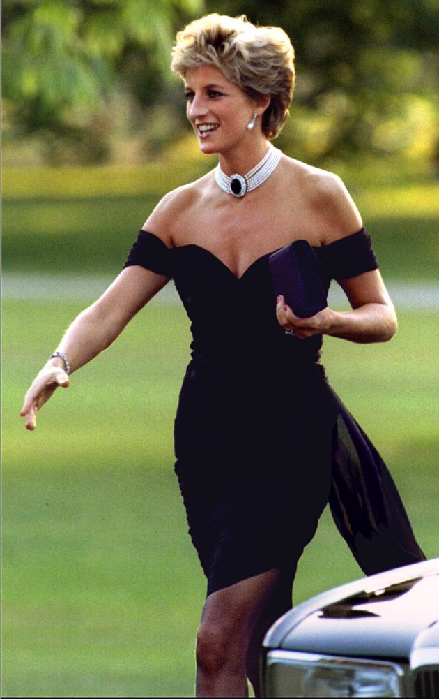 The Day Princess Diana And Her Revenge Dress Shocked The World
