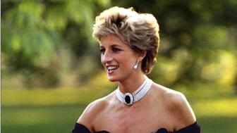 The Princess of Wales meets invited guests at the Serpentine gallery in Hyde Park June 29