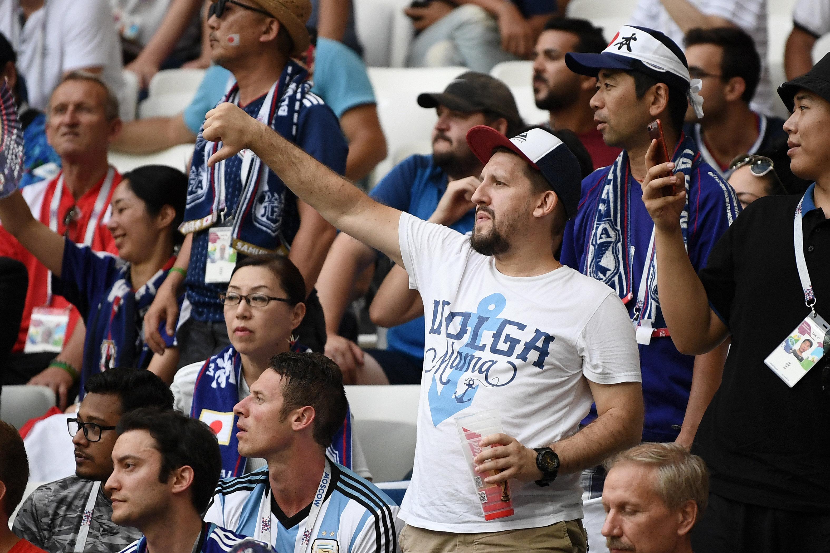 일본 축구를 향해 야유가 쏟아지고 있다
