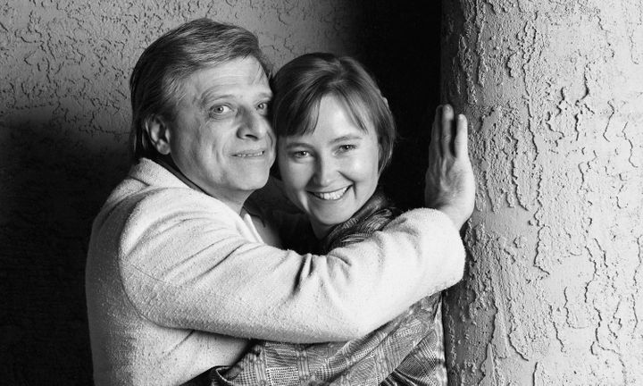 Harlan Ellison was survived by his fifth wife, Susan Ellison. File photo from 1991.