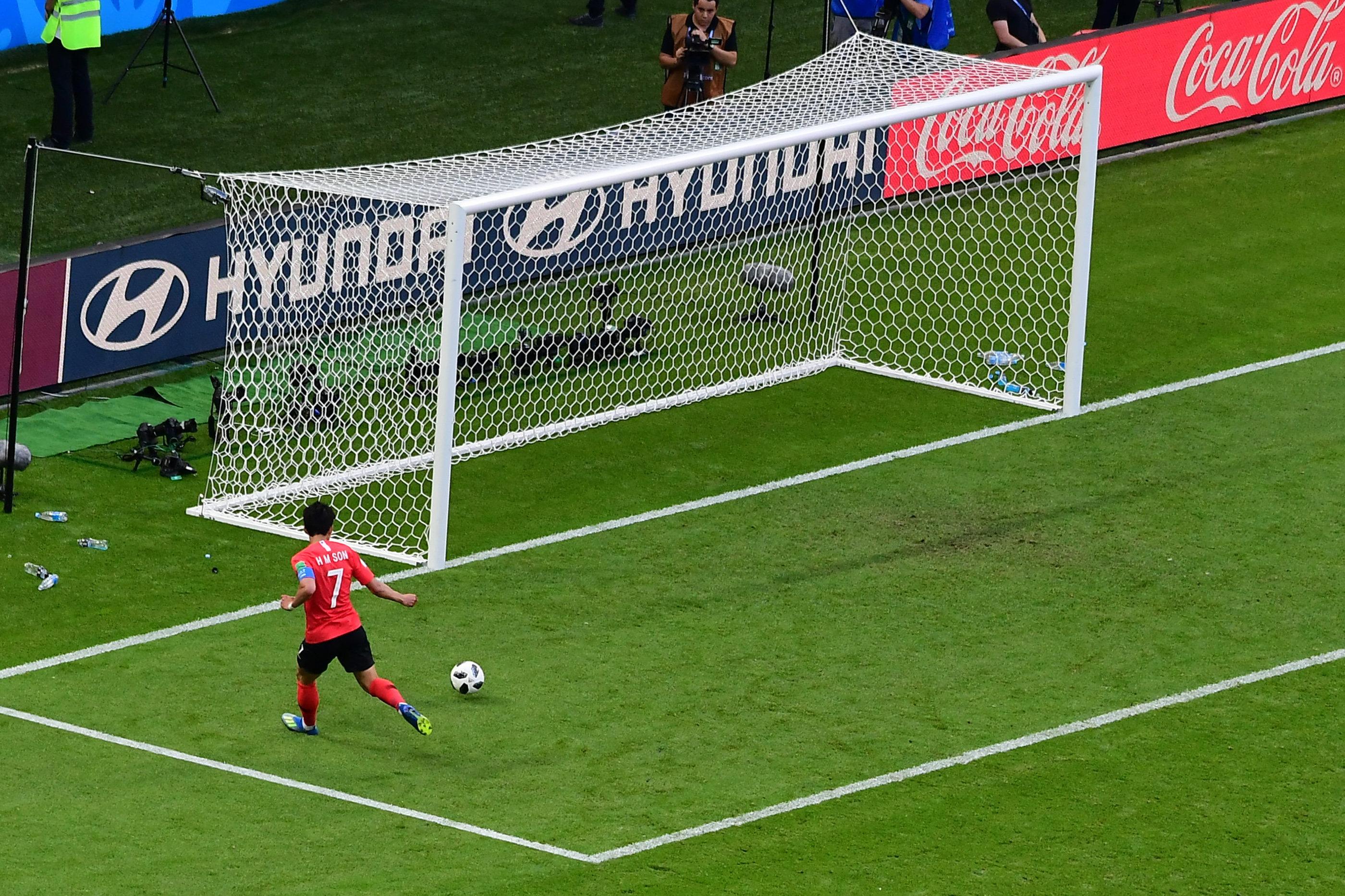 독일 전 두번째 골 당시 손흥민의 속도를 계산해봤다(영상)