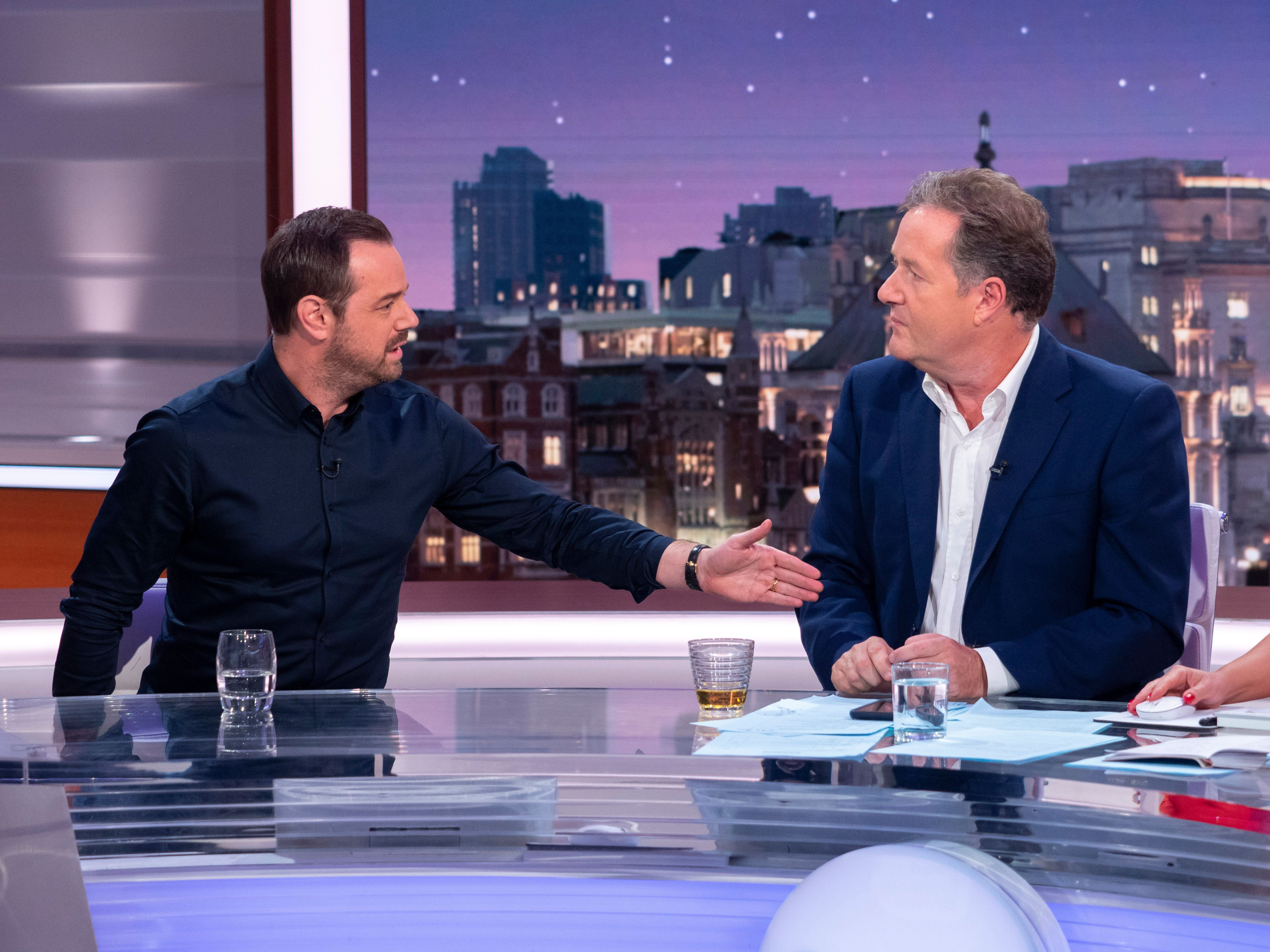 Danny Dyer Tells Piers Morgan To 'Stop Talking' As He Attempts To Apologise For Comments Made About His