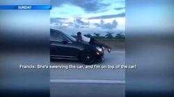 Βίντεο: «Είμαι στο καπό του αυτοκινήτου μου ενώ τρέχει, κάποια προσπαθεί να το