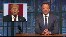Seth Meyers To Trump: 'Dude, Get A Therapist'