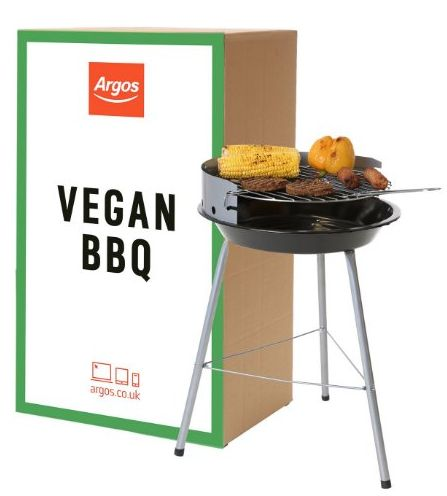 The 'World's First Vegan BBQ' Is Actually Just A Regular Argos