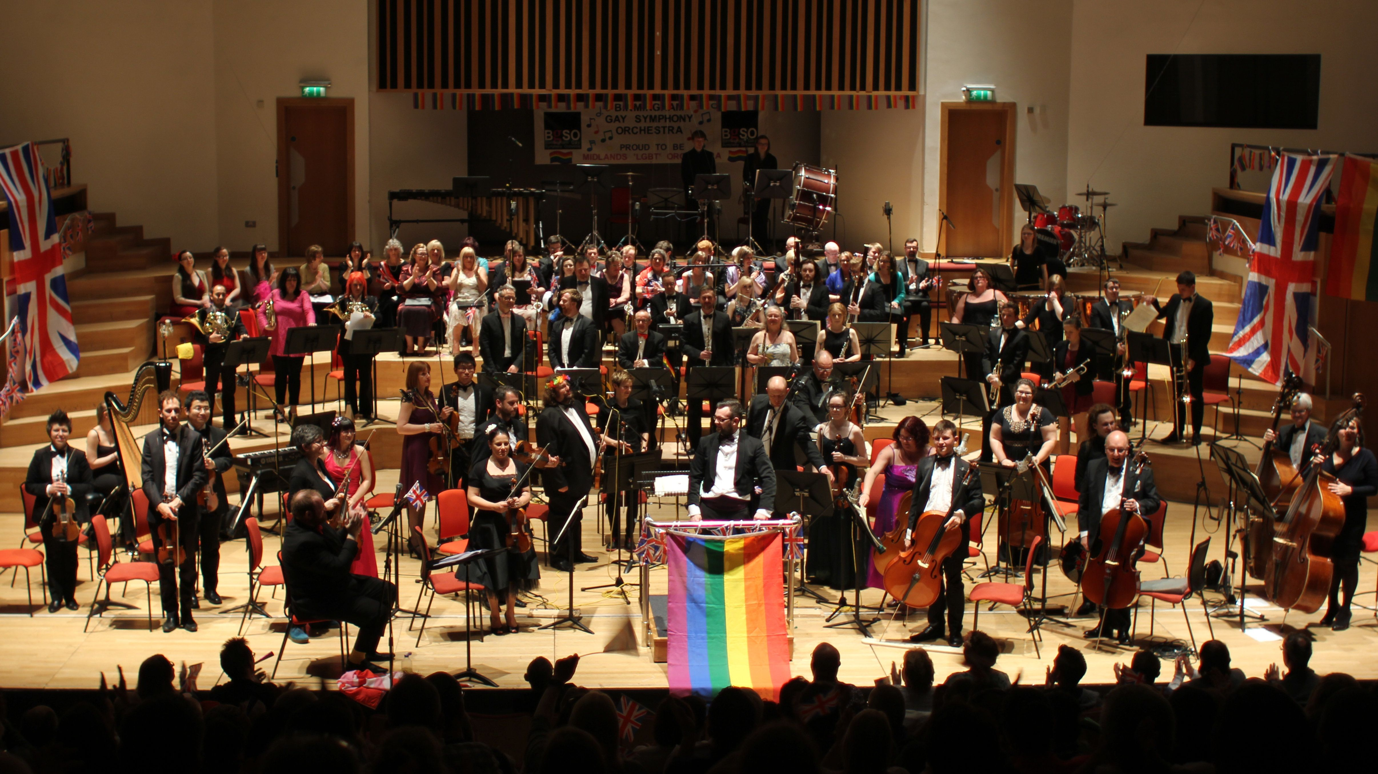 This LGBT Orchestra Is Creating Community: 'I Have Never Met A Friendlier Group Of