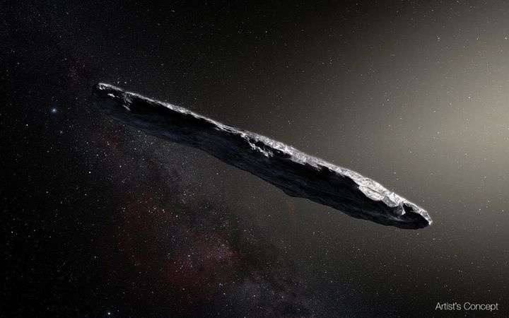 'Oumuamua was first detected last October by the University of Hawaii's Pan-STARRS1 telescope.