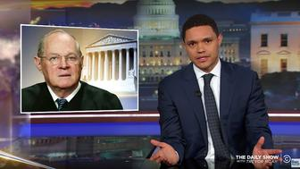Trevor Noah of The Daily Show analyzes the opening on the Supreme Court