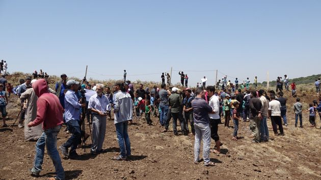 Περισσότεροι από 120.000 Σύριοι έχουν εγκαταλείψει το νοτιοδυτικό μέρος της