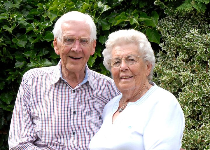 Eric and Edith have been married for 68 years.