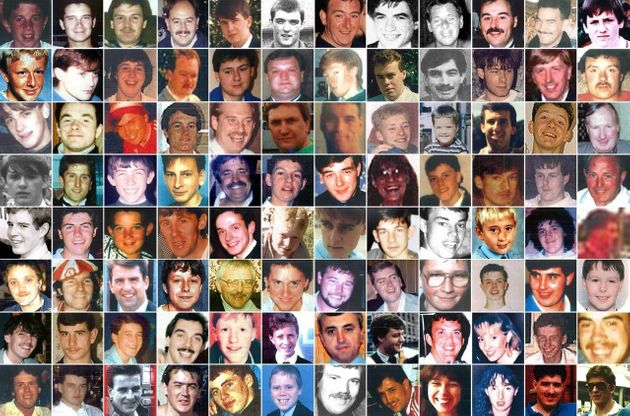The 96 victims of the Hillsborough