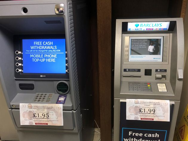 MPs reminded that free-to-use cash machines are a privilege their constituents often do not enjoy with...