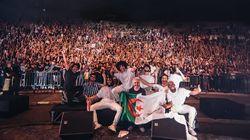 Plus de 2500 fans au premier concert du rappeur Rilès à