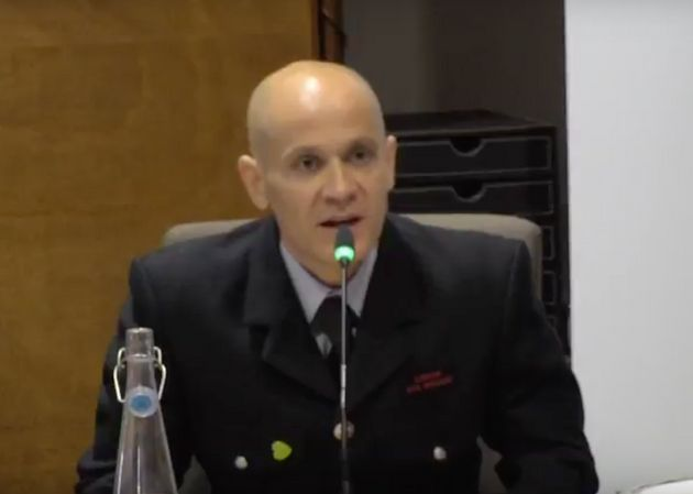 David Badillo giving evidence at the Grenfell Tower Inquiry on